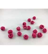 COTTON THREADED BEADS PINK ONE PIECE